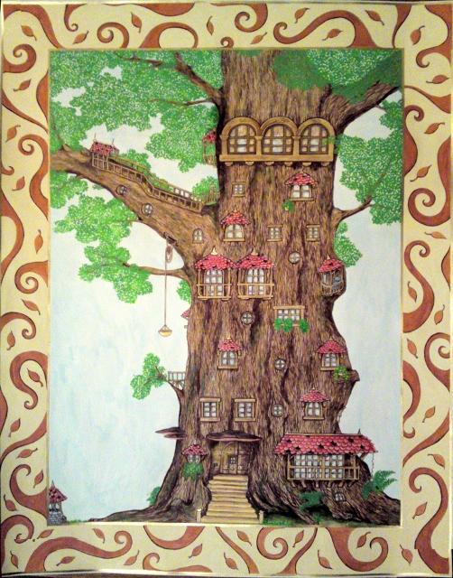 Le palais dans l'arbre